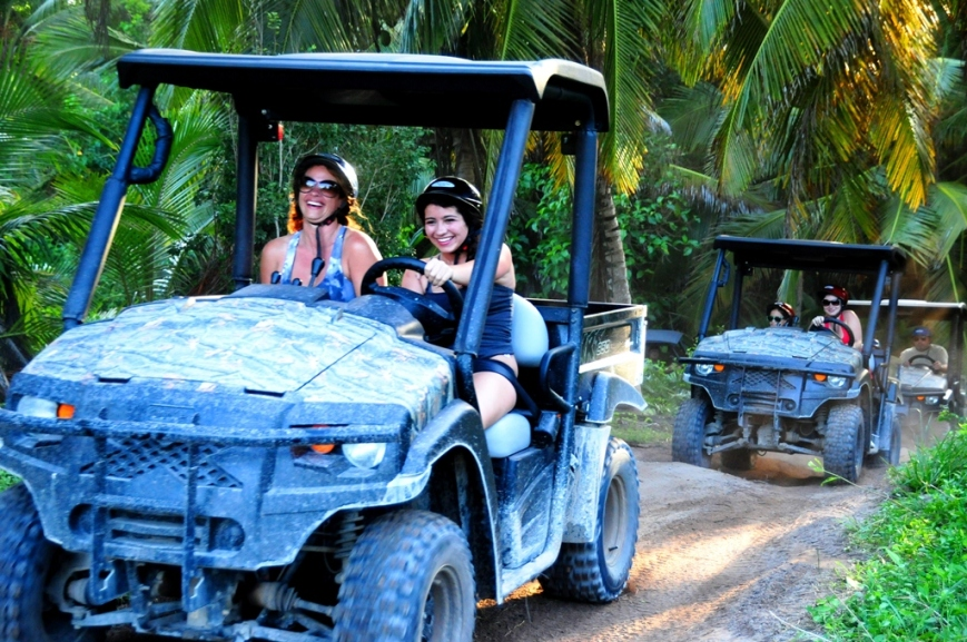 Side by Side buggy excursion in Punta Cana
