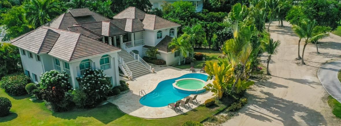VILLA SANTA CRUZ PUNTA CANA DOMINICAN REPUBLIC