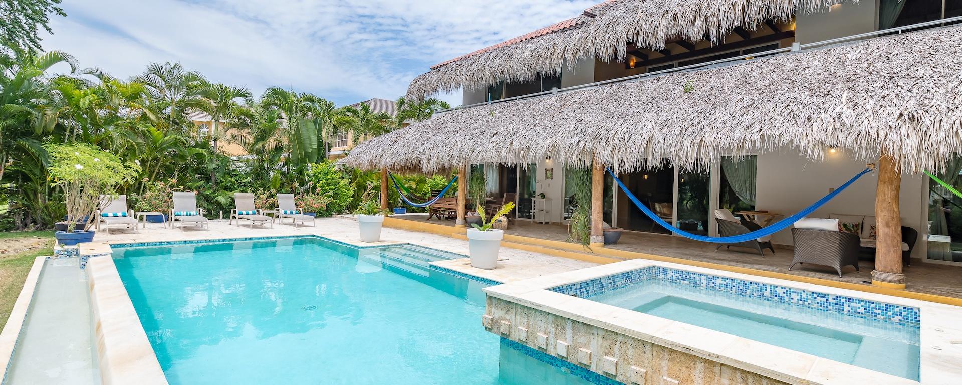 VILLA LOS ENSUEÑOS PUNTA CANA DOMINICAN REPUBLIC